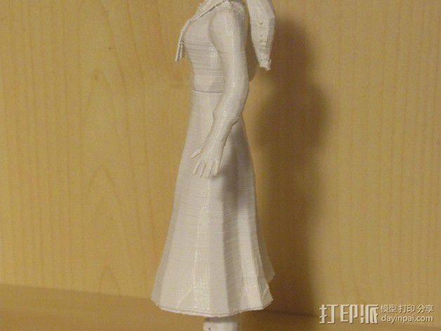 生化奇兵 伊丽莎白模型 3D模型  图5