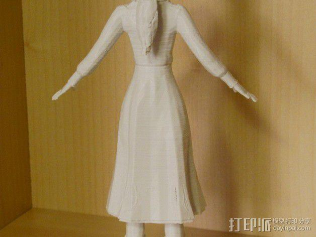 生化奇兵 伊丽莎白模型 3D模型  图6