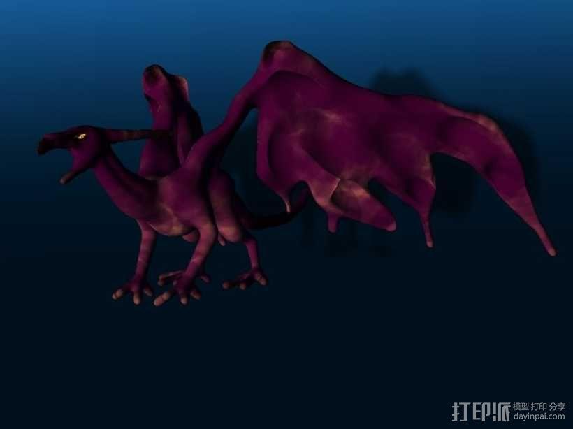 西方龙 3D模型  图1