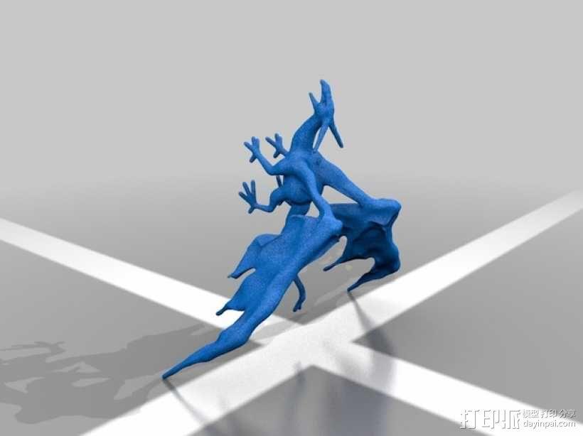 西方龙 3D模型  图2