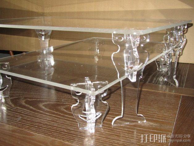 桌子  3D模型  图2