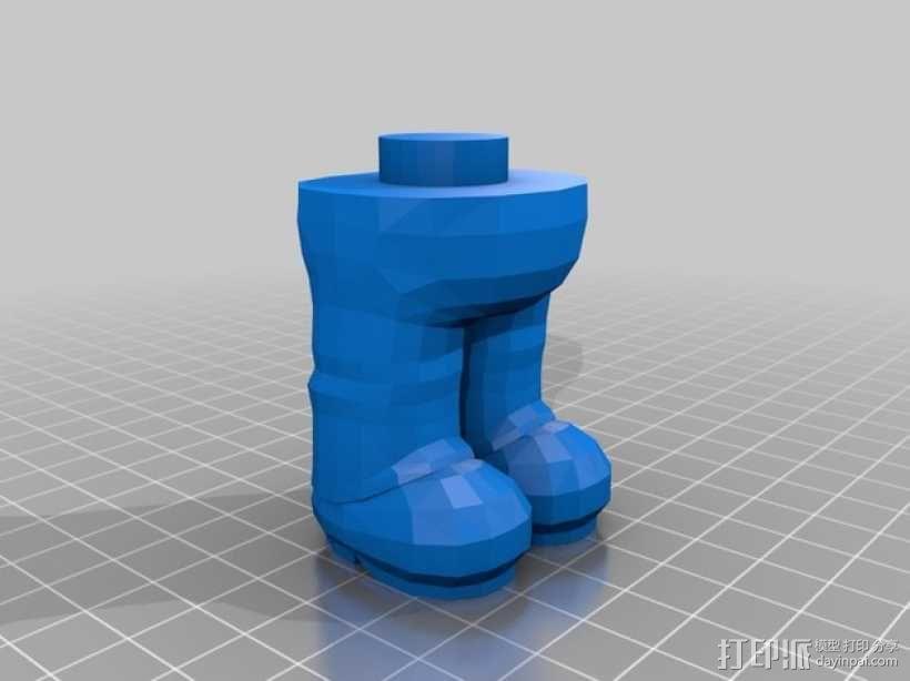 马里奥 3D模型  图2