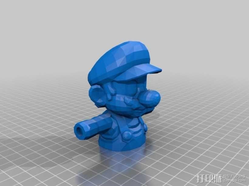 马里奥 3D模型  图3