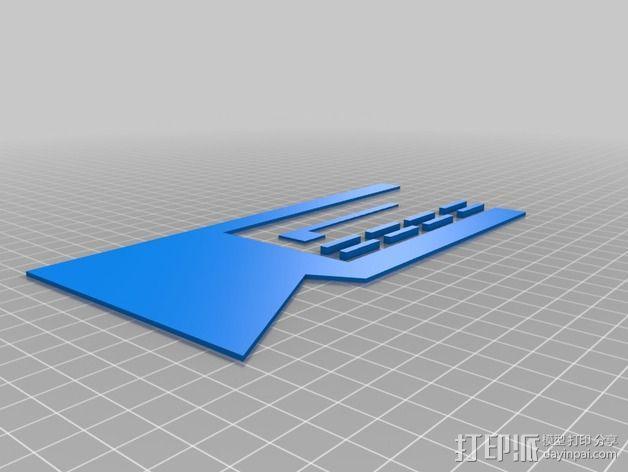 澳洲联储大厦模型 3D模型  图2