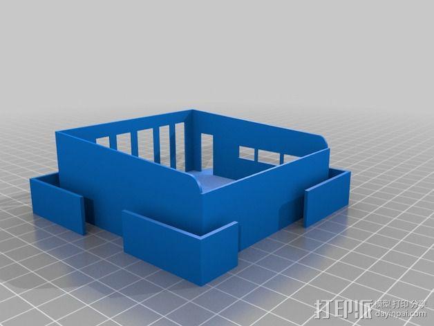 澳洲联储大厦模型 3D模型  图5