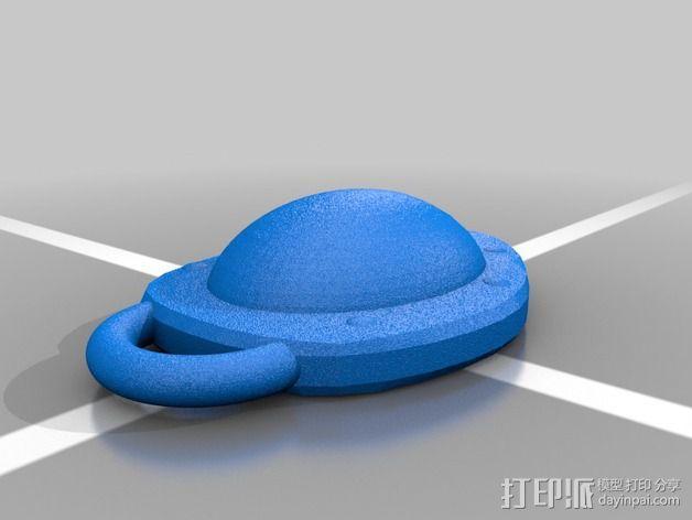 口袋妖怪 龟壳化石 3D模型  图2