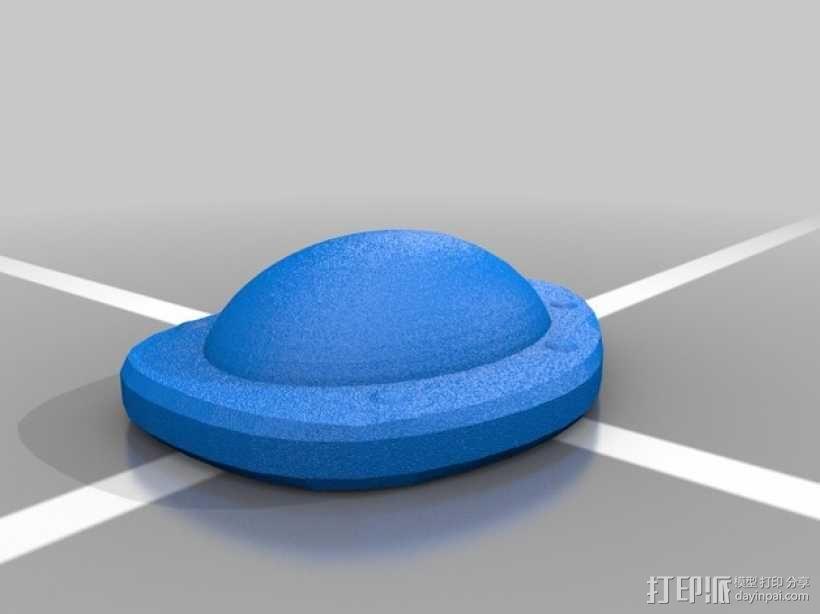 口袋妖怪 龟壳化石 3D模型  图1