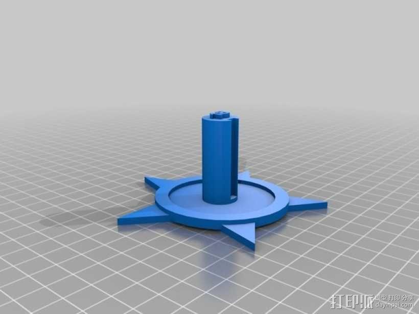 火箭基座 3D模型  图1