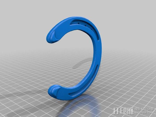 马蹄铁 3D模型  图2