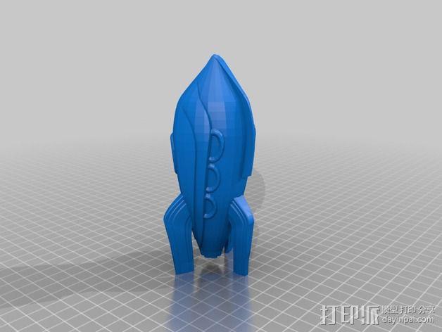 Zorgon 飞船 3D模型  图4