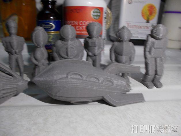 Zorgon 飞船 3D模型  图2