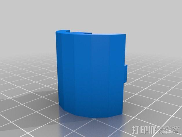 疯猫机器人手臂部件 3D模型  图2