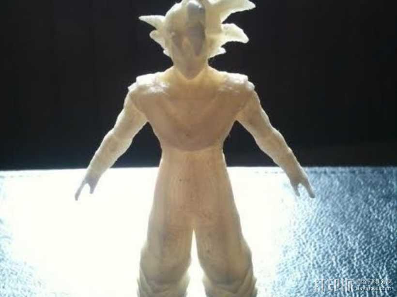 悟空 七龙珠  3D模型  图1