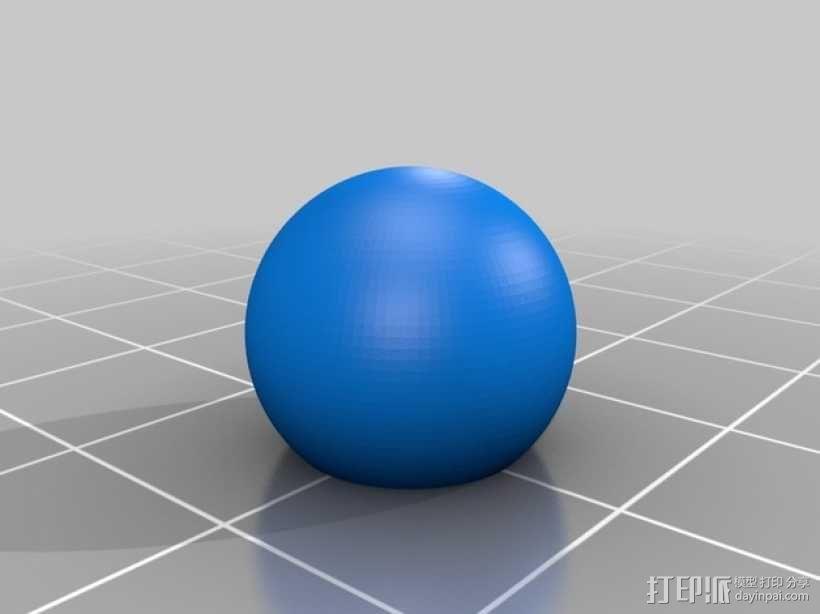 加农炮 雪人 3D模型  图7