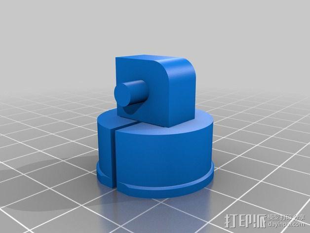 疯猫机器人连接部件 3D模型  图3