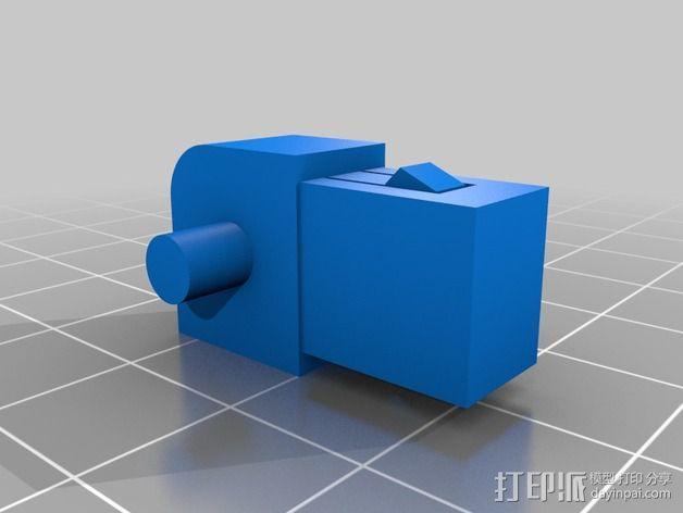 疯猫机器人连接部件 3D模型  图5