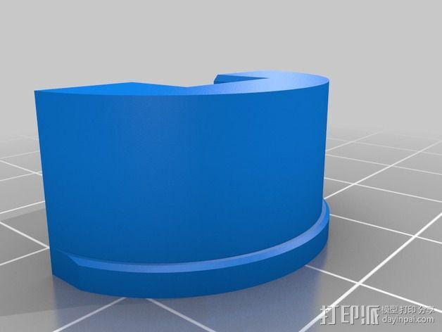 疯猫机器人连接部件 3D模型  图4