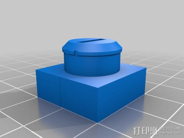 疯猫机器人连接部件 3D模型  图9