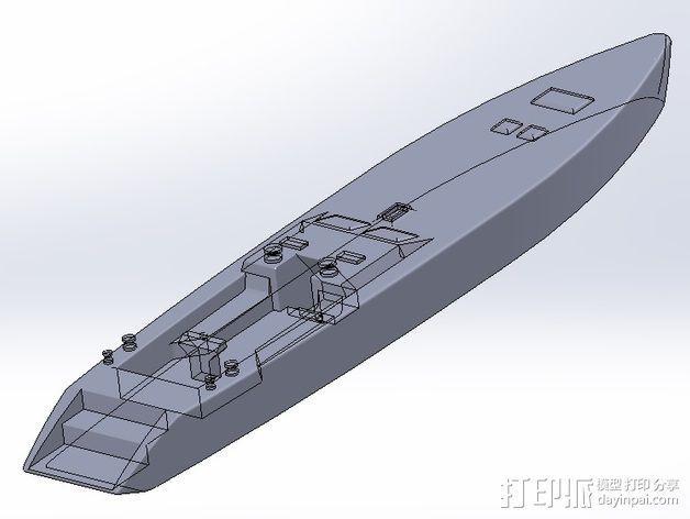帆船 3D模型  图6
