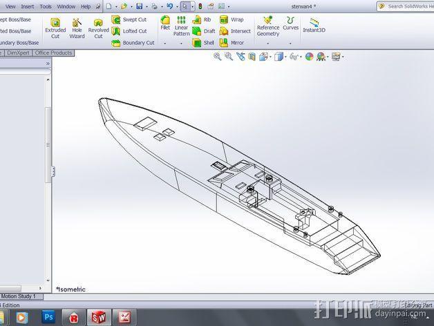 帆船 3D模型  图7