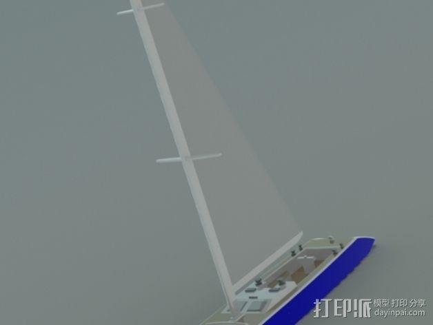 帆船 3D模型  图5