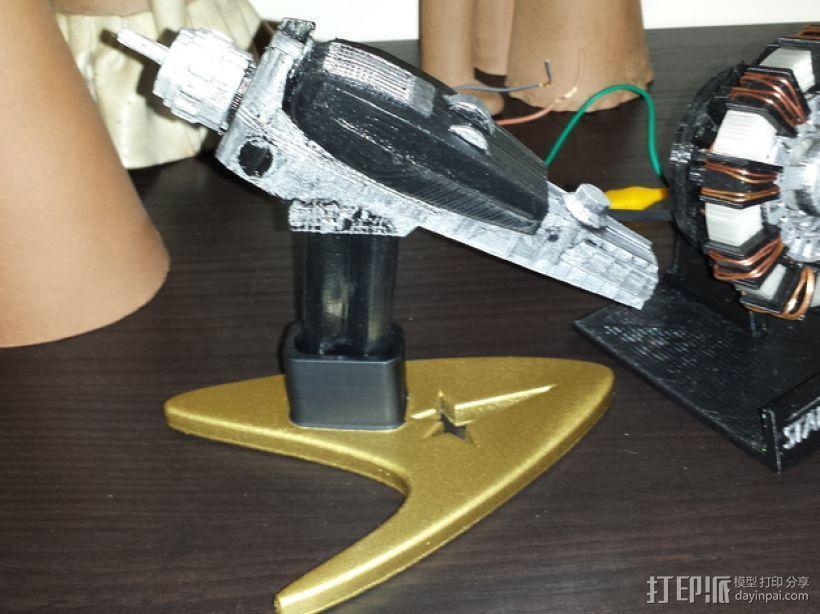 移相器支架 3D模型  图1