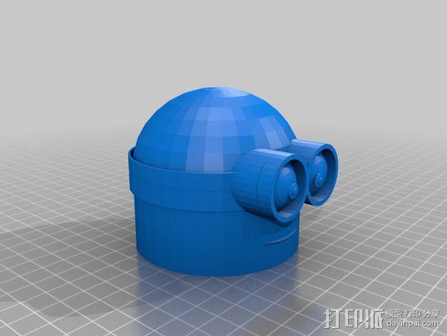 情人节小黄人 3D模型  图2