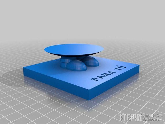 情人节小黄人 3D模型  图3