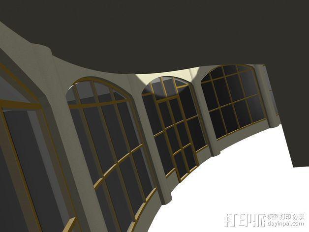 概念式圆顶建筑 3D模型  图6