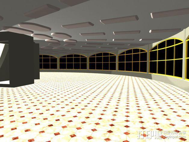 概念式圆顶建筑 3D模型  图8