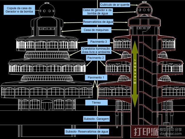概念式圆顶建筑 3D模型  图14