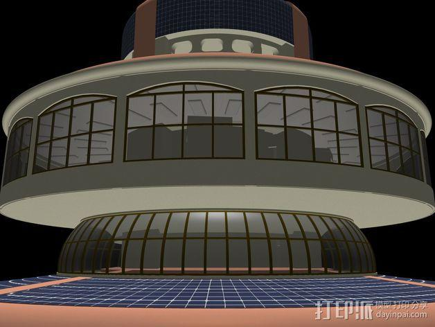 概念式圆顶建筑 3D模型  图10