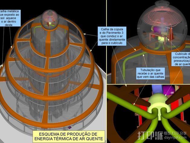 概念式圆顶建筑 3D模型  图18
