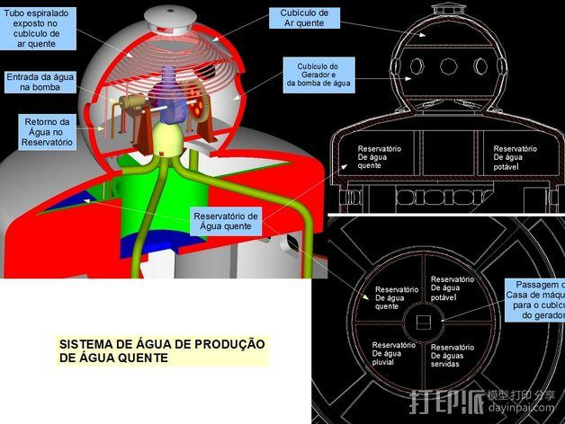 概念式圆顶建筑 3D模型  图19