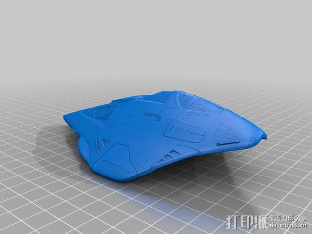 Delta 飞机 3D模型  图3