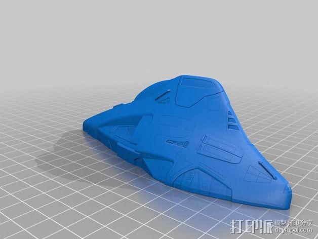 Delta 飞机 3D模型  图4