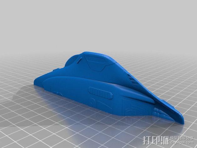 Delta 飞机 3D模型  图5