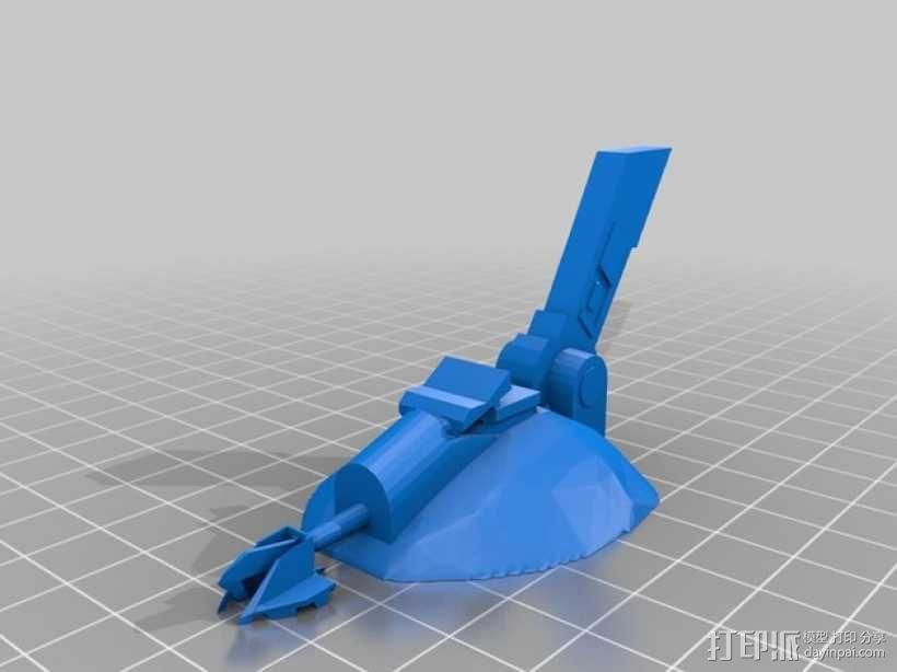 AT-ST步行机 3D模型  图3