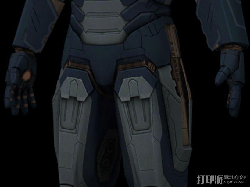 钢铁侠 3D模型  图5