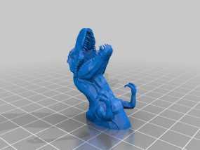 霸王龙钥匙坠 3D模型