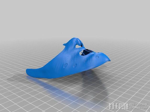 汉尼拔·莱克特头部模型 3D模型  图4