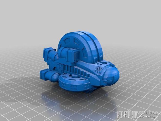 LightBringer 光明使者号飞船 3D模型  图3