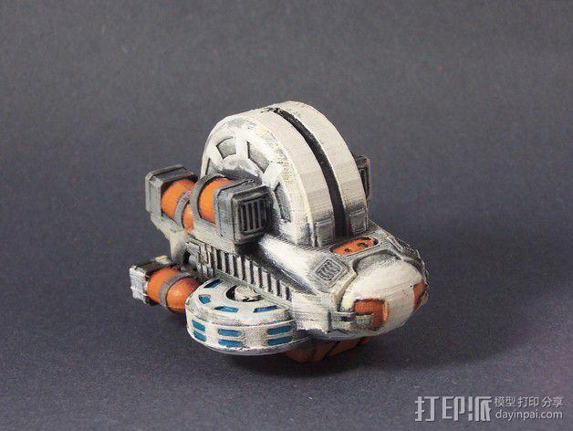 LightBringer 光明使者号飞船 3D模型  图6