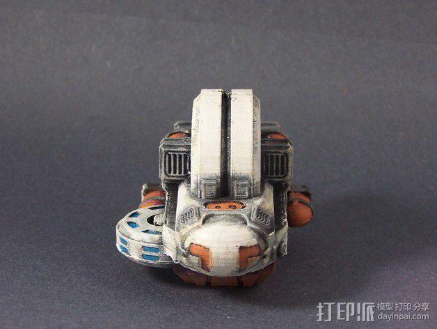 LightBringer 光明使者号飞船 3D模型  图4