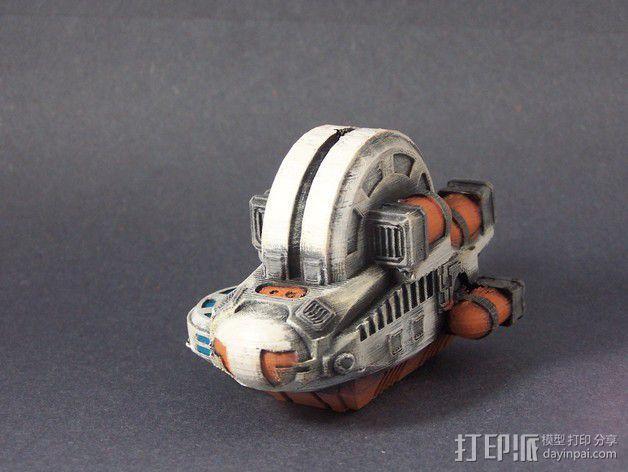 LightBringer 光明使者号飞船 3D模型  图5