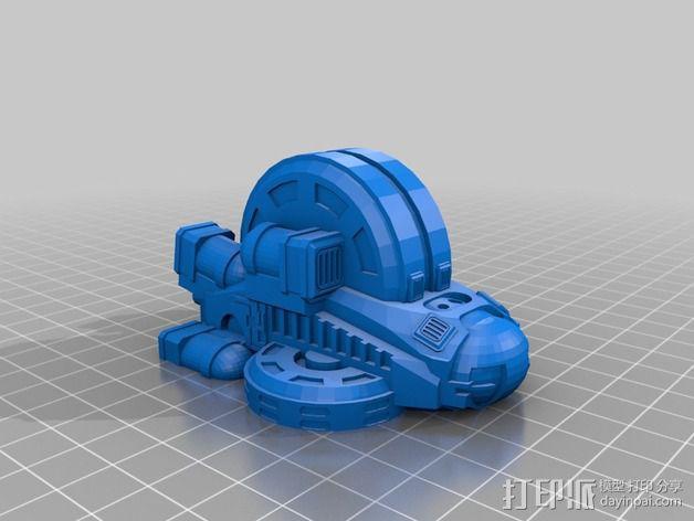 LightBringer 光明使者号飞船 3D模型  图10