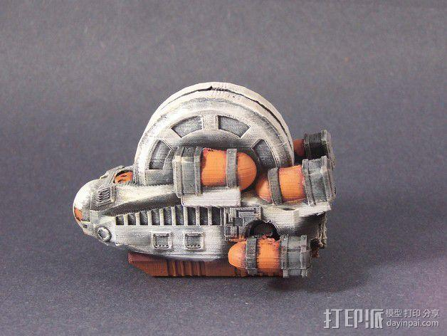LightBringer 光明使者号飞船 3D模型  图9