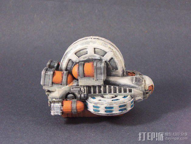 LightBringer 光明使者号飞船 3D模型  图8