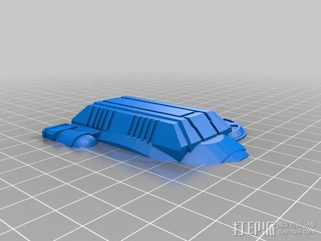 LightBringer 光明使者号飞船 3D模型  图11