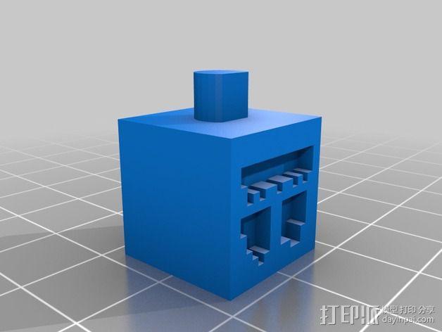 雪傀儡 3D模型  图3